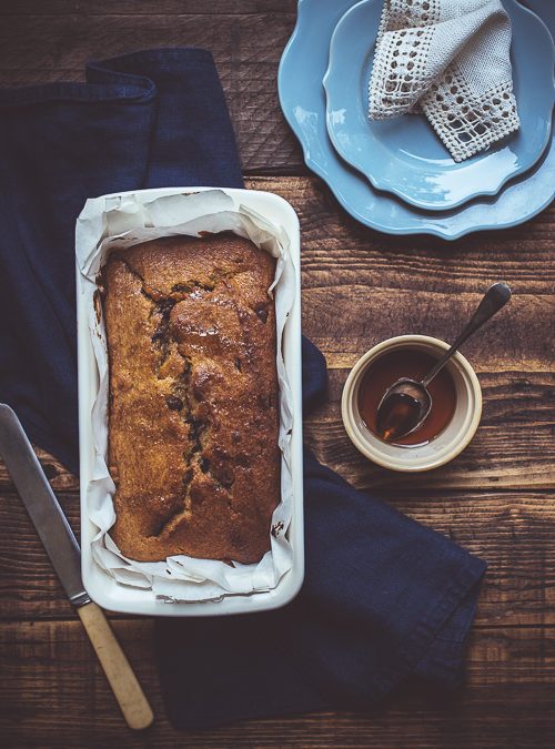 Vegan Banana, Almond and Chocolate Loaf