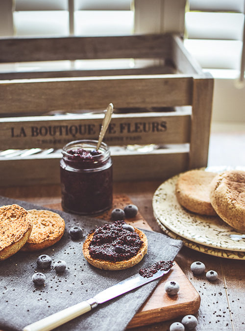 Blueberry Chia Jam – super easy, refined sugar free
