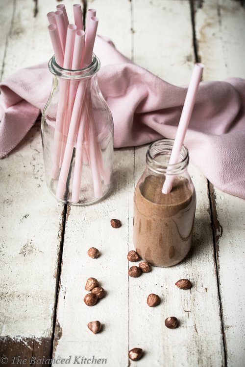 Chocolate Nutella (hidden superfood) Smoothie