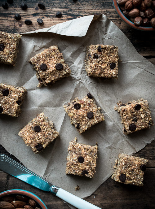 Chocolate Chip, Chia, Nut & Oat Bites