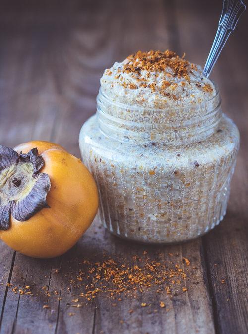 Persimmon, Coconut & Seabuckthorn Chia Jam