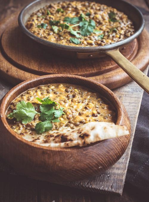 Mixed Puy and Green Lentil Dal Tikka Masala