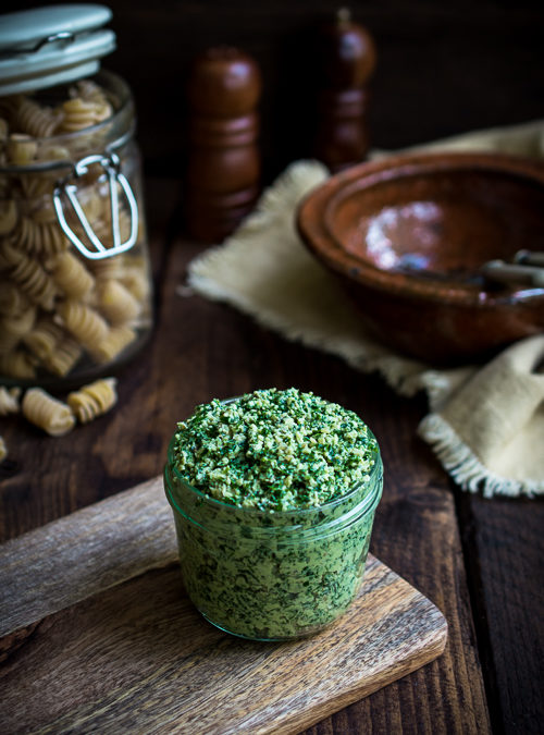 Eat your greens – Kale & Walnut Pesto