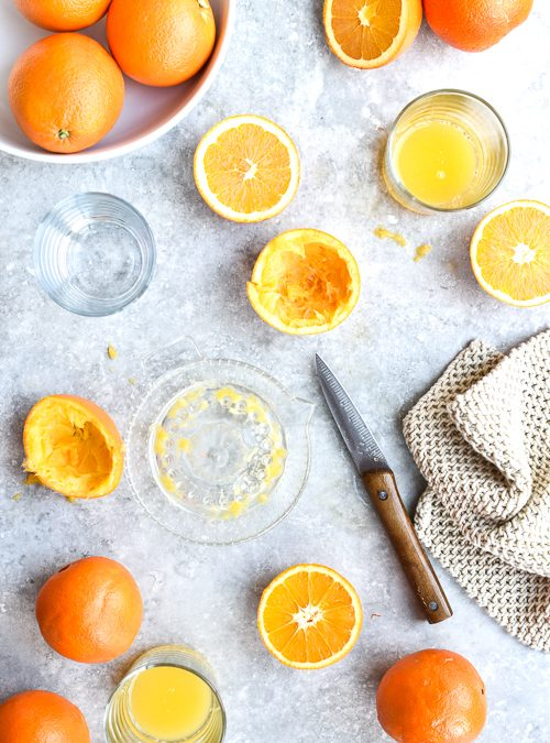 Pure and Simple, Freshly Squeezed Orange Juice