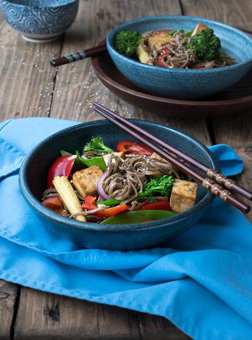 vegan tofu stiry fry vegetables recipe