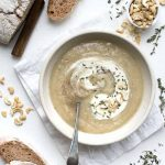 vegan artichoke cashew soup recipe