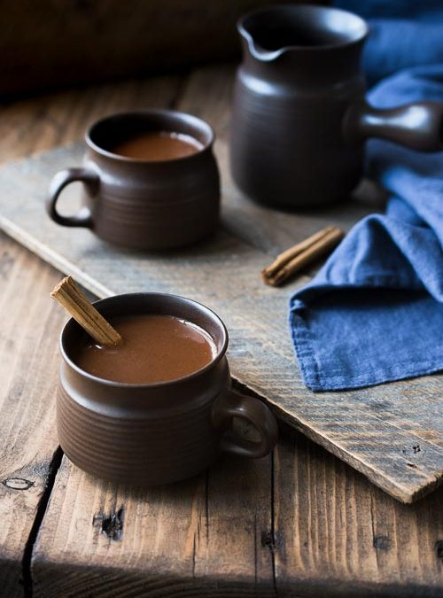 Cinnamon & Date, Dark Hot Chocolate Drink