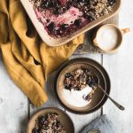 vegan breakfast crumble dessert recipe