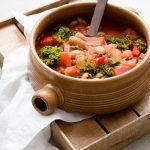 vegan soup Tuscan white beans