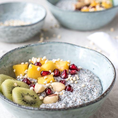 chia, vegan, breakfast