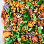 vegan pizza, pizza
