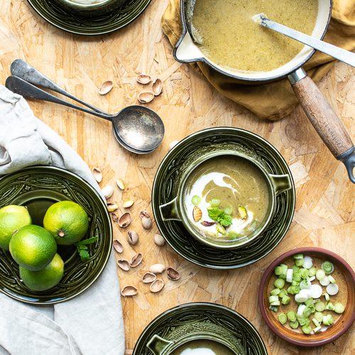 vegan, soup