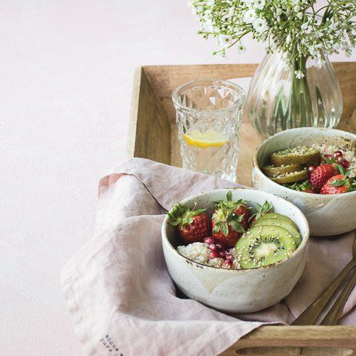 vegan, breakfast, quinoa