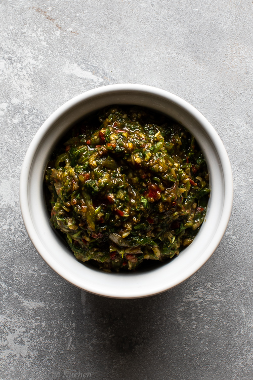 Thai Green Curry Paste (vegan and takes only minutes to make)