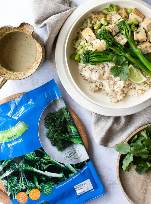 Tenderstem® Broccoli, Courgette & Edamame Green Thai Curry
