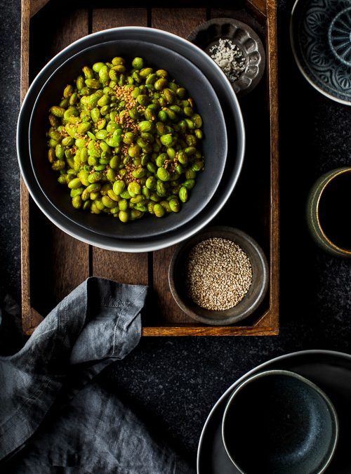 Smoked Paprika, Oven Toasted Sesame Seed & Edamame Beans