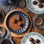 Chocolate Chip and Peanut Butter Truffles - vegan