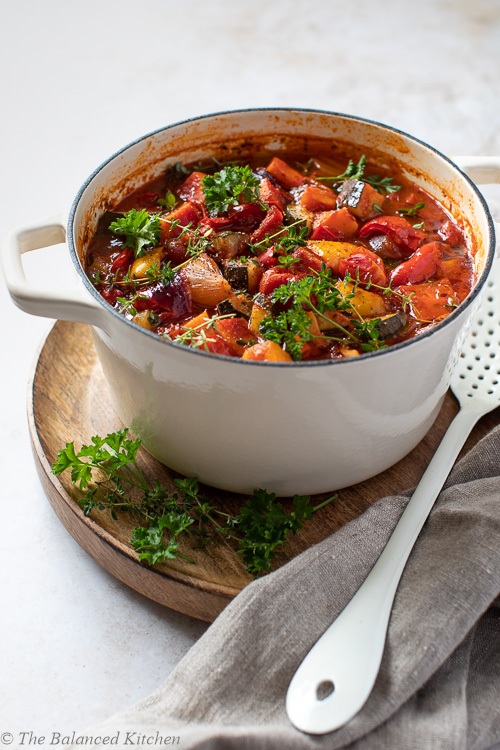 Morrocan Vegetable Tagine – easy one-pot recipe