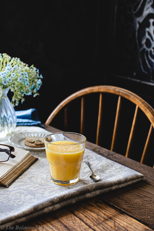 Orange and Ginger Health Shot Zinger