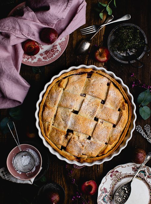 Metis® Fruit & Thyme Baked Shortcrust Lattice Pie