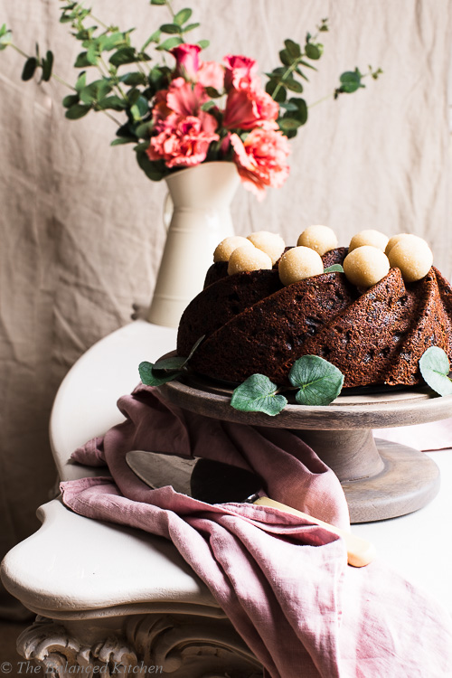 Vegan Simnel Easter Swirl Cake with Sugar-Free Marzipan