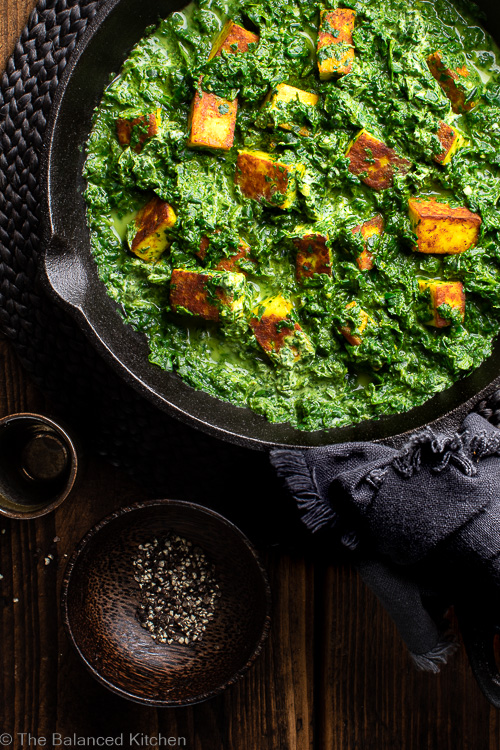 Saag Paneer – delicious main or side dish
