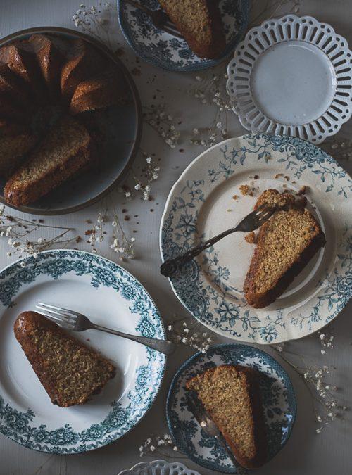 Vanilla and Almond Bundt Cake