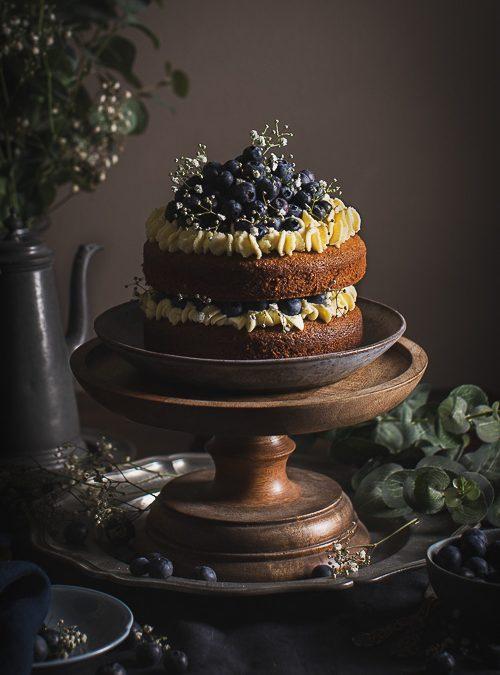 Almond, Lemon & Poppy Seed Cake (Gluten-free)